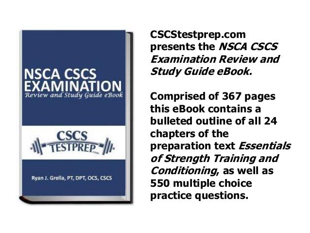 NSCA CSCS考試準備心得(2018/4/10)